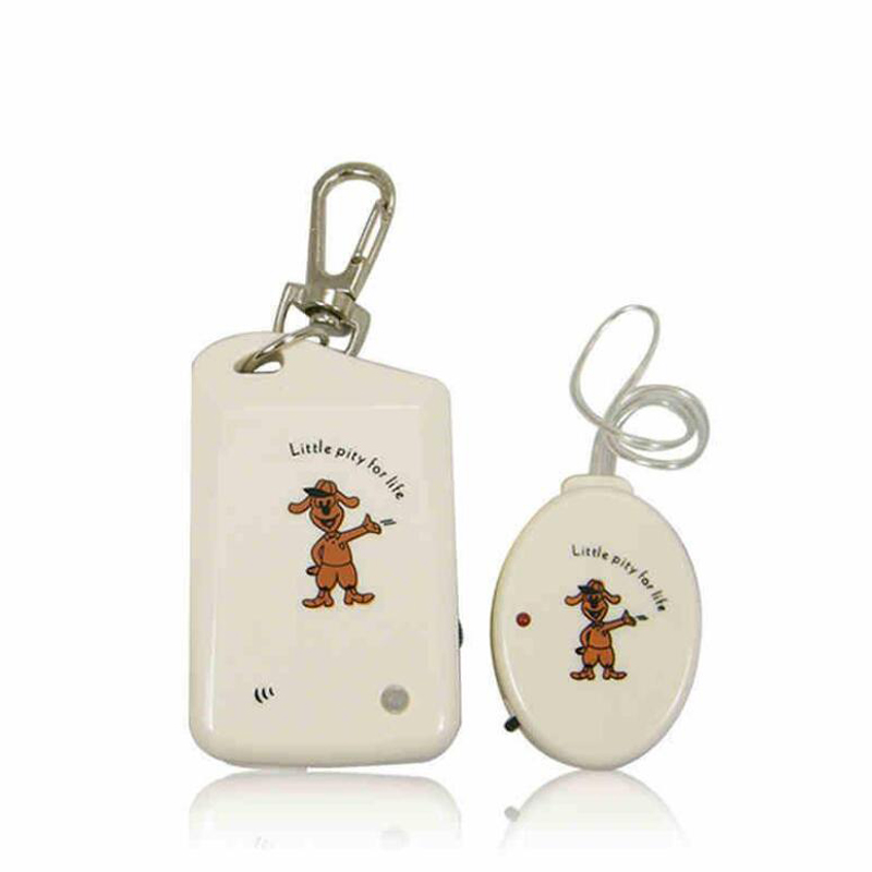 ANTI-LOST Security Reminder Alarm Kid Pet Bag Electronic Key finder Baby Kid Pet Locator White new 1pcs led light torch remote sound control lost key finder locator locator keychain keyring with whistle claps