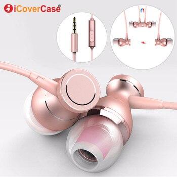 Bass Music auricular para LG G6 G4 G5 V30 V20 K10 Q6 V10 caso De auriculares Fone De Ouvido Earbud auricular con micrófono Oordopjes
