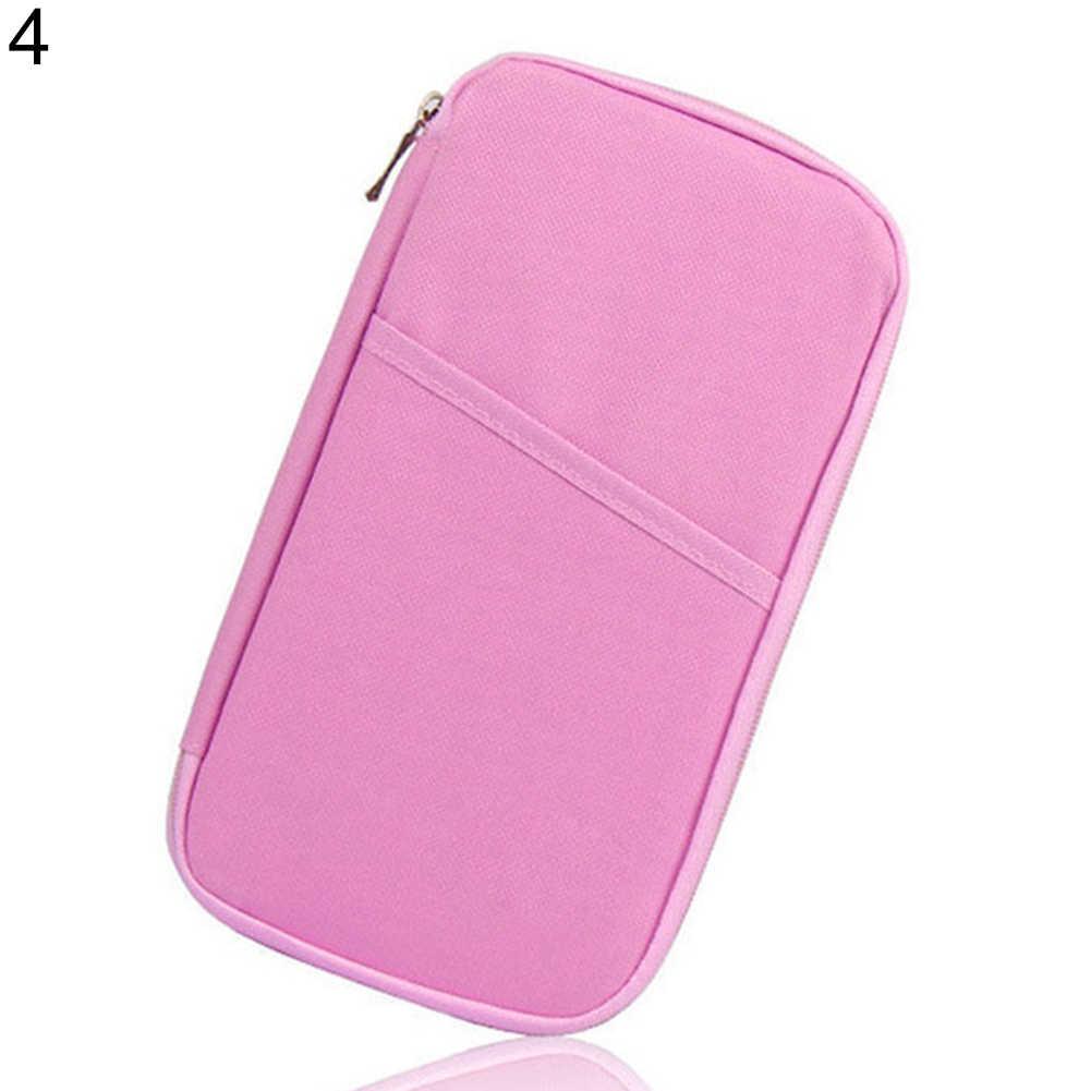 bcd876af511 ... Travel Passport Credit ID Card Cash Holder Organizer Wallet Purse Case  Bag Credit Card Holder Travel ...