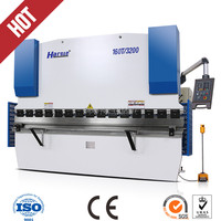 Harsle Brand WC67K 63TX2500 Widely Used Automatic Cnc Hydraulic Press Brake For Sale