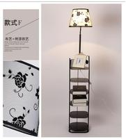 Simple modern led living room floor lamp bedroom bedside lamp coffee table sofa lamp shelves creative light TA928520