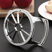 hot deal buy apple corer easy release stainless steel fruit slicer pear cutters apples peeler cut 8/12 cutter kitchen utensils gadgets tools
