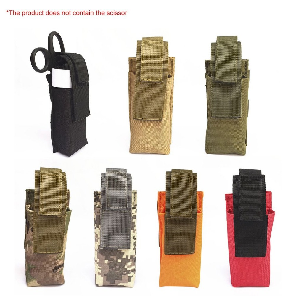 Hewolf Waterproof Tactical Tourniquet Pouch Outdoor Sports Accessories Small Hanging Package Medical Large Scissors Bag