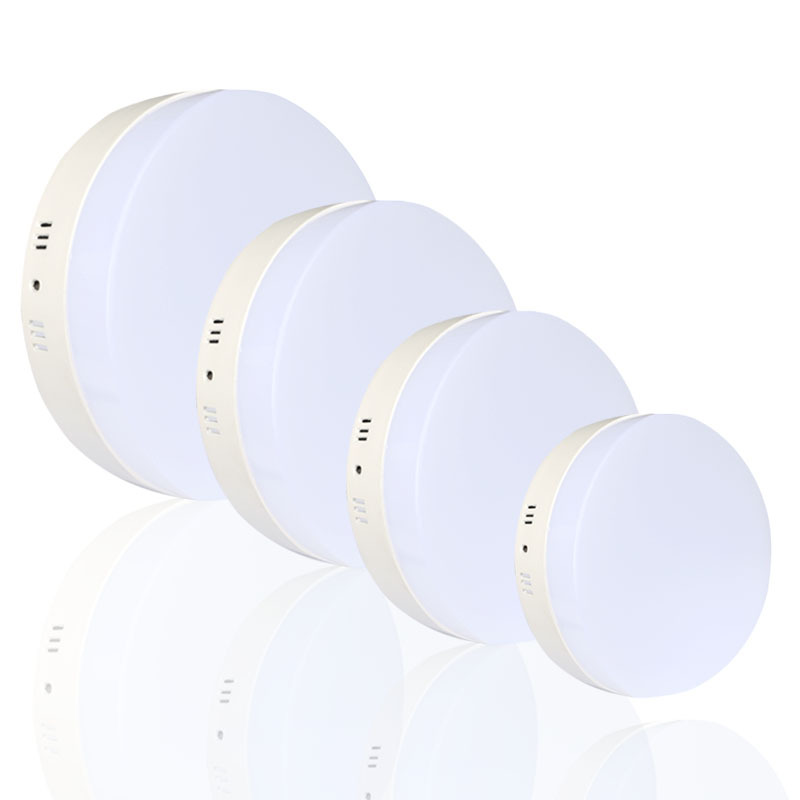 10pcs lot Square led ceiling lights 6W 12W 18W 24W Round panel down light surface mounted