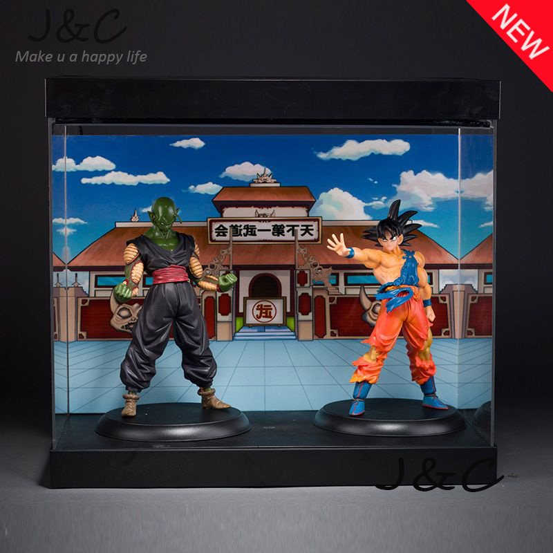 Free Shipping 22CM Anime Dragon Ball Son Goku Piccolo Action Figure Brinquedos DragonBall figure Collection Toy Kids Toy bragon ball z figures toy model son goku pvc action figure toys dragonball children kids gift free shipping