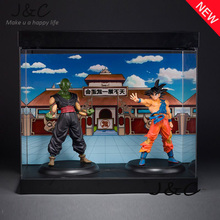 Free Shipping 22CM Anime Dragon Ball Son Goku Piccolo Action Figure Brinquedos DragonBall figure Collection Toy Kids Toy