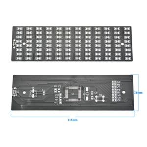 Image 5 - AIYIMA Singlechip LED เครื่องวิเคราะห์สเปกตรัมเสียงตัวบ่งชี้ระดับ MP3 PC เครื่องขยายเสียงไฟแสดงสถานะโมดูล Diy ชุด