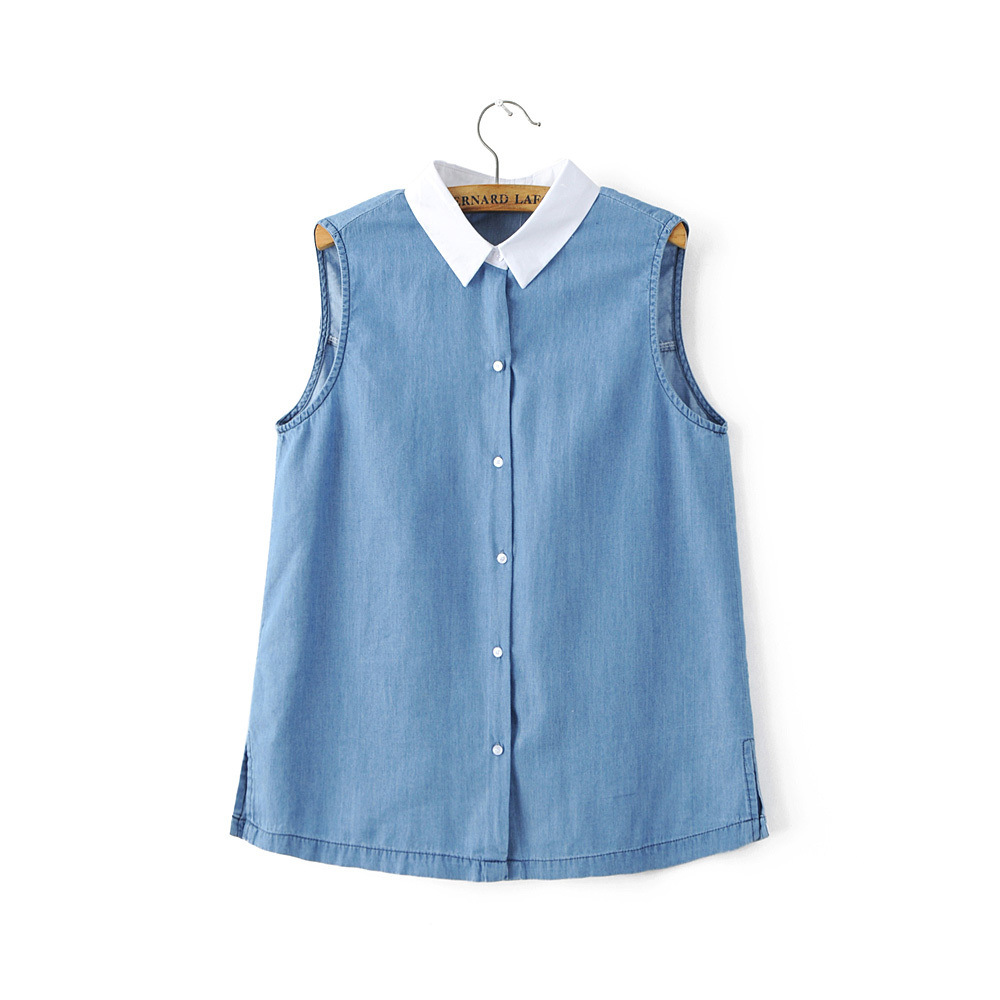 Compare Prices on Women Denim Shirt Fitted- Online Shopping/Buy ...
