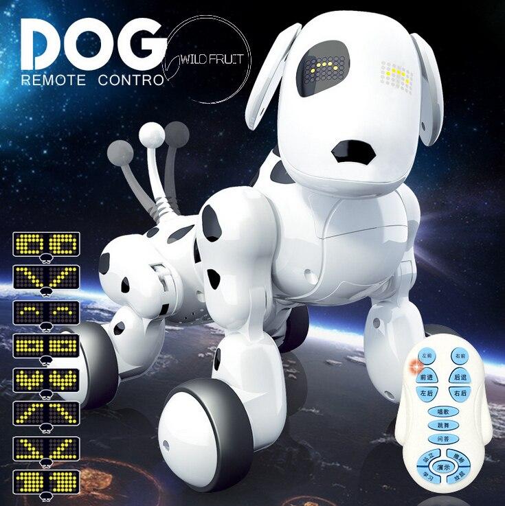 Chanter Intelligent électrique drôle RC chien jouets avec musique, danse chien télécommande rc smart pet jouets