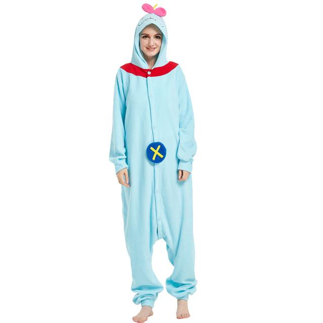 Adult Pyjamas Cosplay Tiger dog Elephant Unicorn Blue Shark Onesie Lemur Sleepwear Homewear Pajamas Party Clothing For Women Man