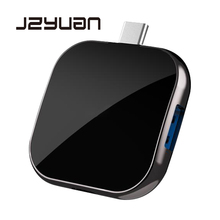 JZYuan USB C HUB to HDMI 1080P Dex portable Mode For Samsung Galaxy S9/S8 Nintend Switch PD Charging USB 3.0 Thunderbolt 3 Dock
