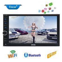 Android 6.0 Car PC 1080P GPS Stereo Audio Player 2 Din 7'' Car Stereo In Dash GPS Navigation RDS Support WiFi OBD2 SW Control
