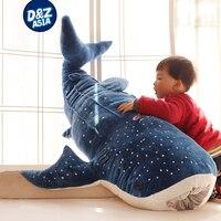 ザトウクジラサメぬいぐるみ大きなクジラ人形ホームクッション漫画サメシロナガスクジラ子供枕ぬいぐる