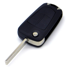 WhatsKeyเปลี่ยนเปลือกกุญแจรีโมทสำหรับOpel Corsa Vauxhall Astra Vectra Zafiraโอเมก้า2ปุ่มที่มีโลโก้