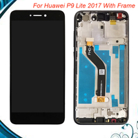 Top Quality For HUAWEI P9 Lite 2017 Lcd Display Screen Replacement For Huawei P9 Lite 2017 Assembly With Frame IN Stock