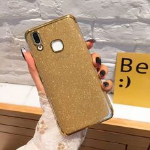 Shiny Glitter Case for HUAWEI P20 P30 Pro Lite HONOR 10i 9 10 Lite 20i View 20 Luxury Bling Plating Soft Clear TPU Cover(China)