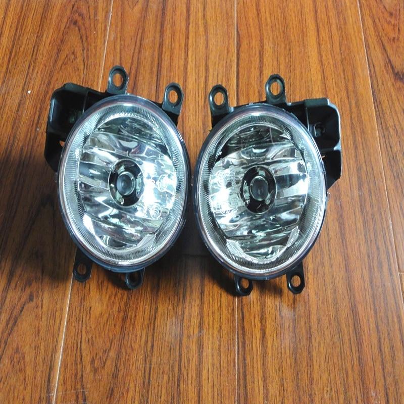1Pair Fog Lamps Front Bumper Fog Lights With Bulb & Back Holder For Toyota Corolla EU-Version 2014-2016 car styling pair of 12v 55w front fog lights bumper lamps for toyota corolla 2013 2014