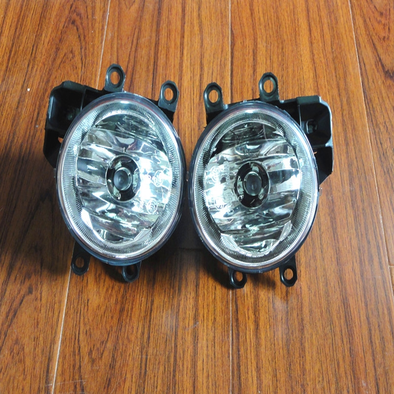 1Pair Front Right/Left Fog Light Lamp With Bulb & Back Holder For Toyota Corolla EU-Version 2014-2016