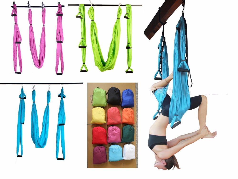 6 color strength de pression yoga hammock inversion trapeze anti gravity aerial traction yoga gym strap online get cheap yoga hammock inversion  aliexpress     alibaba      rh   aliexpress