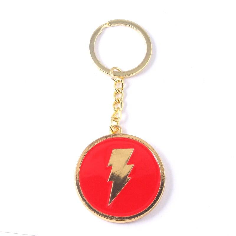 The Flash Schlüsselanhänger Metall Schlüsselbund Taschenanhänger Schlüsselkette