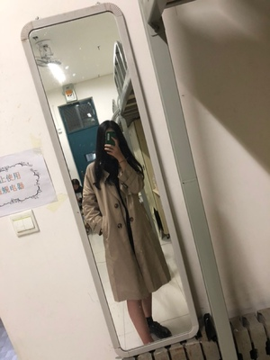 Spring And Autumn Women Fashion Brand Korea Style Waist Belt Loose Khaki Color Trench Female Casual Elegant Soft Long Coat Cloth 54