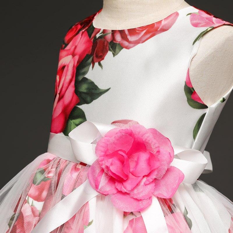 Blume Baby Mädchen Hochzeit Kleid Tutu Geburtstagsausstattung Für ...
