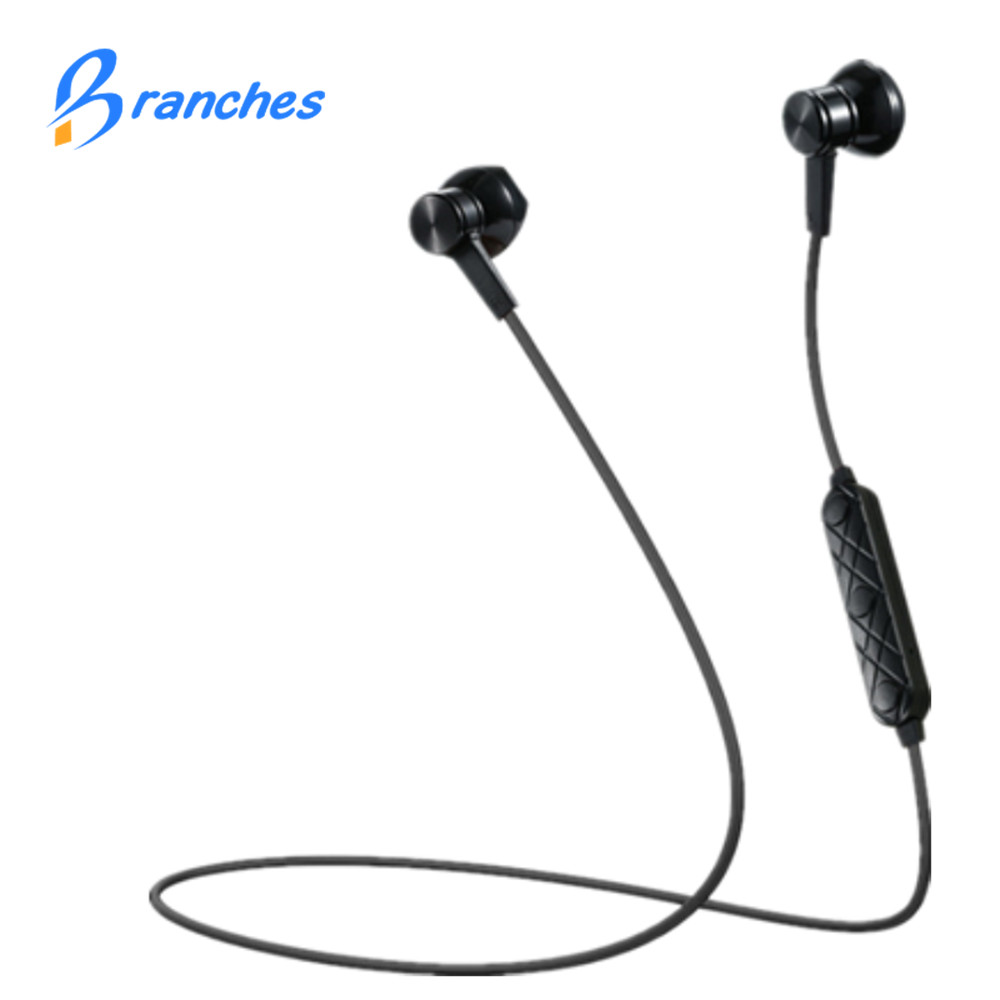 i8 Magnet Metal Bluetooth earphone Wireless headphones for sport Earbuds with microphone headset stereo headphone for iphone se zomoea bass earphone earbuds running stereo sport bluetooth headset wireless headphones for iphone android with microphone