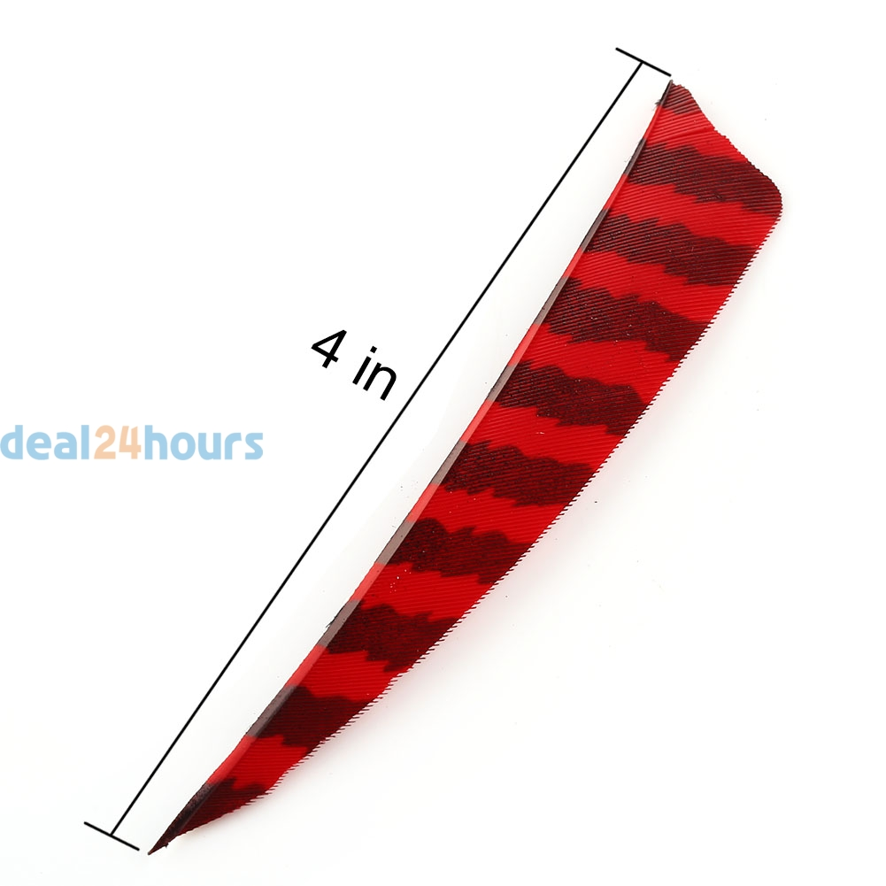 Right Wing Shield Natural Turkey Feather Hunting Arrow Fletching Handmade New