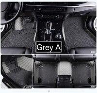 Car floor mats for Volkswagen Beetle CC Eos Golf Jetta Passat Tiguan Touareg 5D car styling carpet floor liner