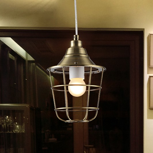 Retro Loft Style Iron LED Pendant Light Fixtures For Dining Room Hanging Lamp Vintage Industrial Lighting Lamparas Colgantes retro loft style creative iron art led pendant light fixtures vintage industrial lighting for dining room hanging lamp