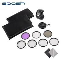 Spash Circulaire Macro Close Up Lens Filter 58mm 62mm 67mm 77mm UV CPL FLD Polarisatiefilter Bloemblaadje Tulp Zonnekap Caps