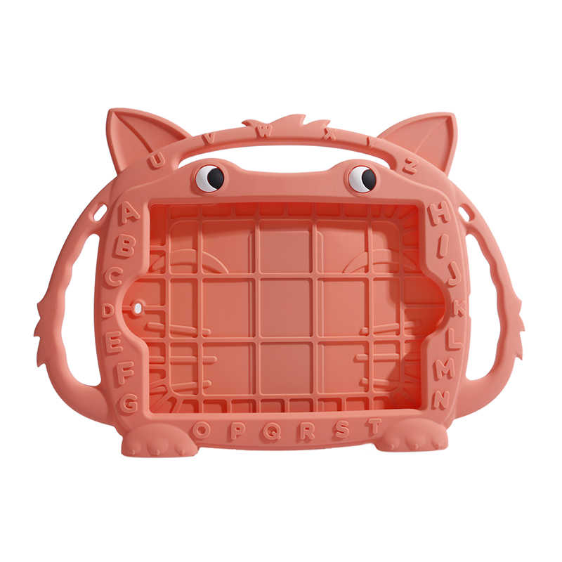 لطيف الثعلب غطاء من السيليكون لباد 5 6 7 8 برو 9.7 كيد ودية تحمل لباد 2017 2018 للصدمات قابل للغسل اللوحي قذيفة حالة