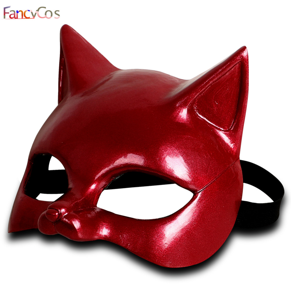 Halloween Game Persona 5 Anne Takamaki Mask Helmet Game Japanese Anime  Cosplay Props Costume Helmet