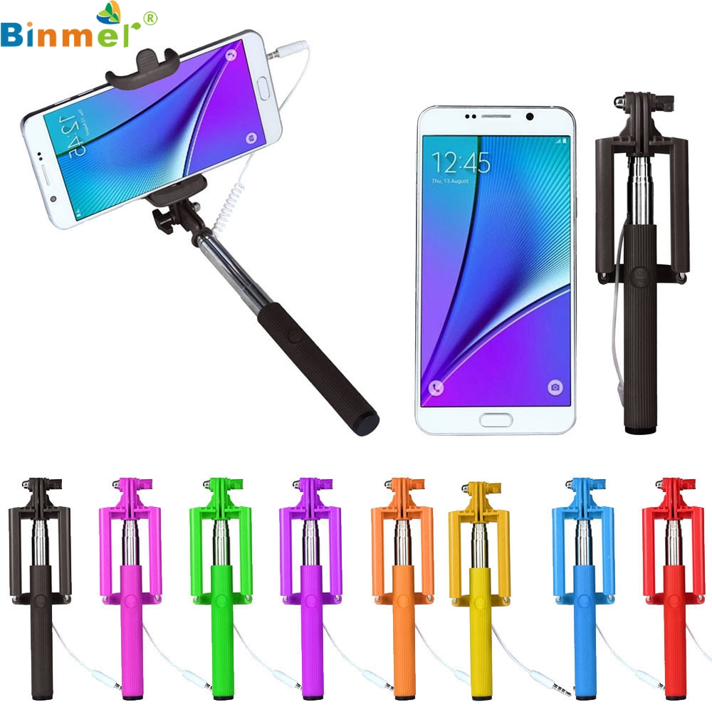 все цены на Self stick selfie boton 1PC Mini Extendable Handheld Fold Self-portrait Stick Holder Monopod 0302 drop shipping онлайн