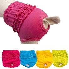 Популярные цвета, милые трусики для домашних животных, трусы для девочек, белье со щенками, одежда из хлопка, 0326