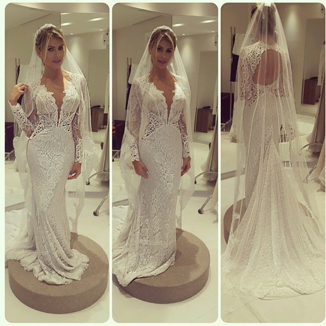 Popular Pictures Of Wedding Dresses For Mature Brides-Buy