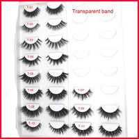Natural Quality Eye Lashes 3D Mink Lashes Handmade Fake Lashes False Individual Eyelashes Eyelash Extension