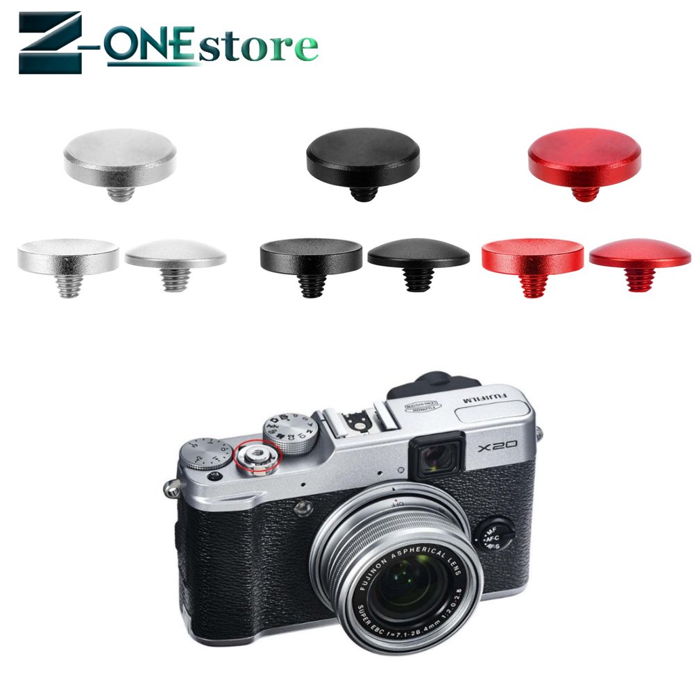 Camera Metal Soft Shutter Release Button For Fujifilm X-E3/X-PRO2/X-E2S/X10/X20/X30/X100/X100T/X100S/X-E1/X-E2/XPRO-1