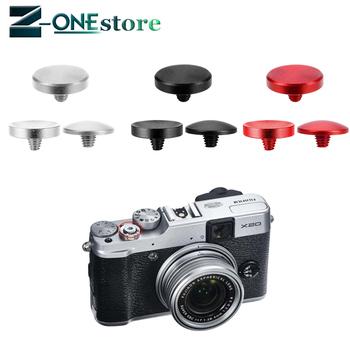 Metalowy spust migawki aparatu dla Fujifilm X-E3 X-PRO2 X-E2S X10 X20 X30 X100 X100T X100S X-E1 X-E2 XPRO-1 tanie i dobre opinie Canon Fujitsu Panasonic Olympus Lumix NIKON wireless SONOVEL