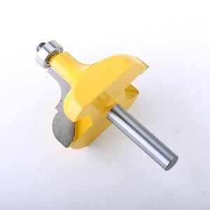 Image 2 - CHWJW 1PC 8mm Shank ramka na zdjęcia/frez do formowania duże przycinanie frez do drewna do obróbki drewna frez elektronarzędzia