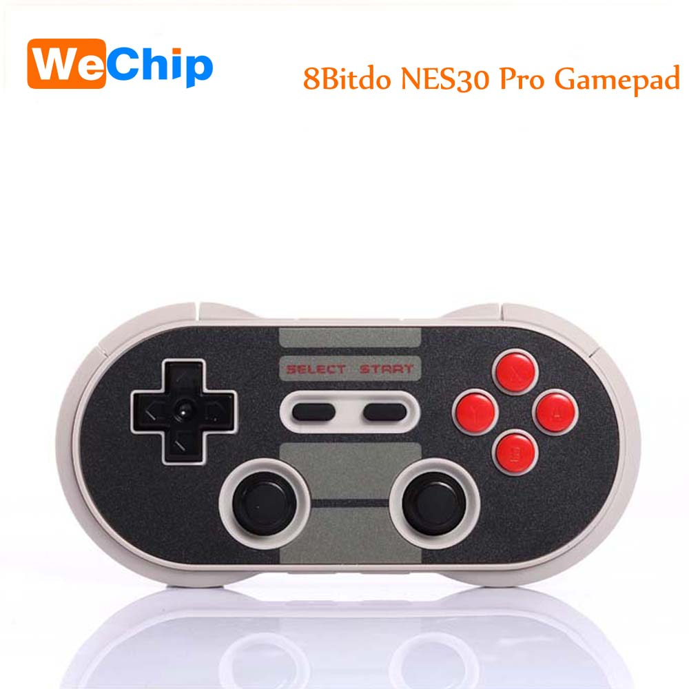 8Bitdo NES30 Pro Wireless Bluetooth Controller Dual Classic Joystick Pc for iOS Android Gamepad Game Controller PC Mac Linux terios s3 wireless bluetooth gamepad bluetooth joystick gaming controller black for android smartphone tablet pc holder included