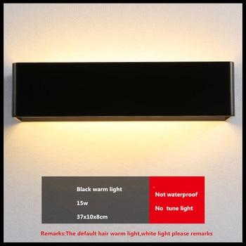 Modern Minimalist LED Wall Lamps Aluminum Bedroom Bedside Lamp Creative Bathroom led Lights 15W led indoor wall Lighting Sconce