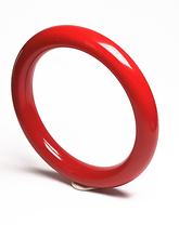 Koraba Fine Jewelry With Certificate 100% Natural Aka Coral Red Gemstone Bangle Bracelet 56-62mm Free Shipping Women