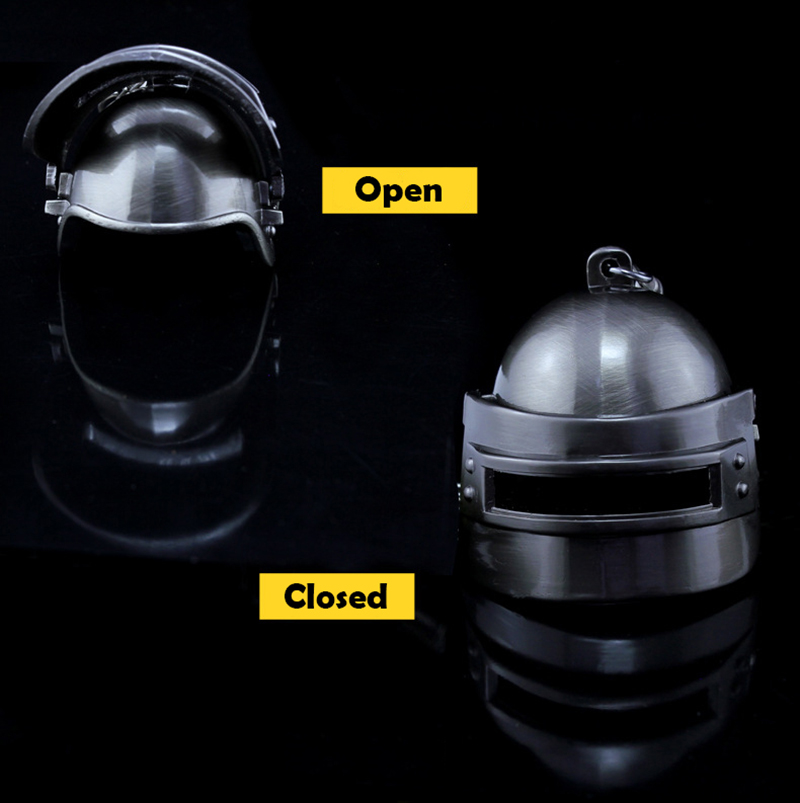 Novelty & Special Use helmet Game Playerunknowns Battlegrounds Keychain Weapon Model Keyring Zinc Alloy Special Buy Costumes & Accessories Motivated Pubg Mini Drop Box