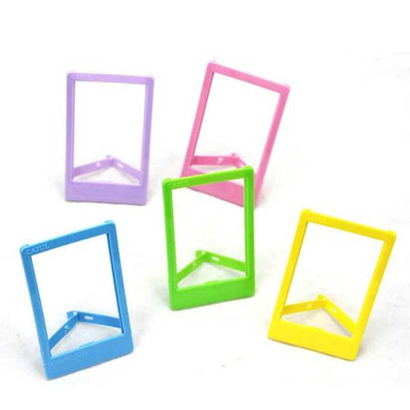 Bricolage Mini cadre Photo en plastique pour images cadre Photo-Fit Instax Mini Film pour stocker des photos précieuses-fit Photo environ 3.9 po
