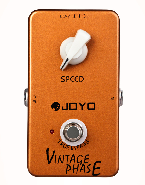 Joyo JF-06 Vintage Phase Guitar Pedal with True Bypass & Single Speed Knob effect, Free Shipping mooer ensemble queen bass chorus effect pedal mini guitar effects true bypass with free connector and footswitch topper