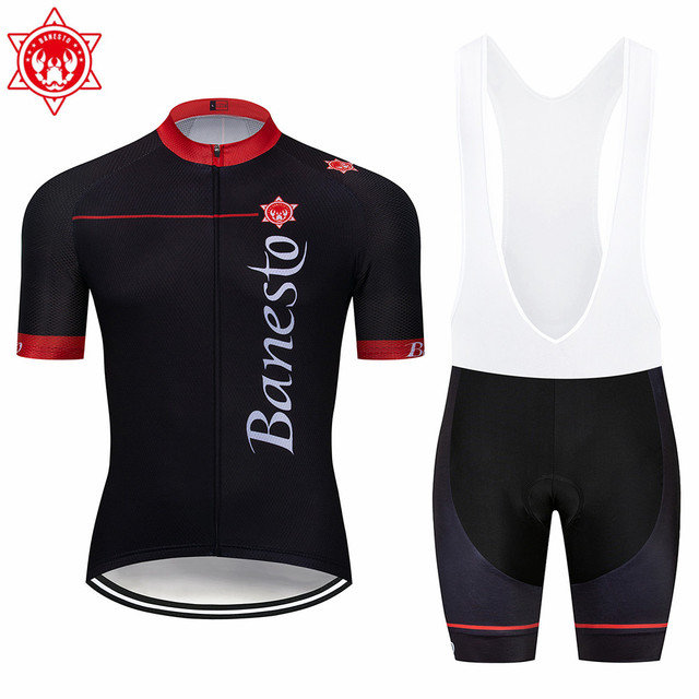 a8ae9a804 2018 Banesto Bike MTB Scott Cycling Short sleeve Jerseys Clothing   Clothing  Pants Tracksuits Sportswear maillot   Roupa