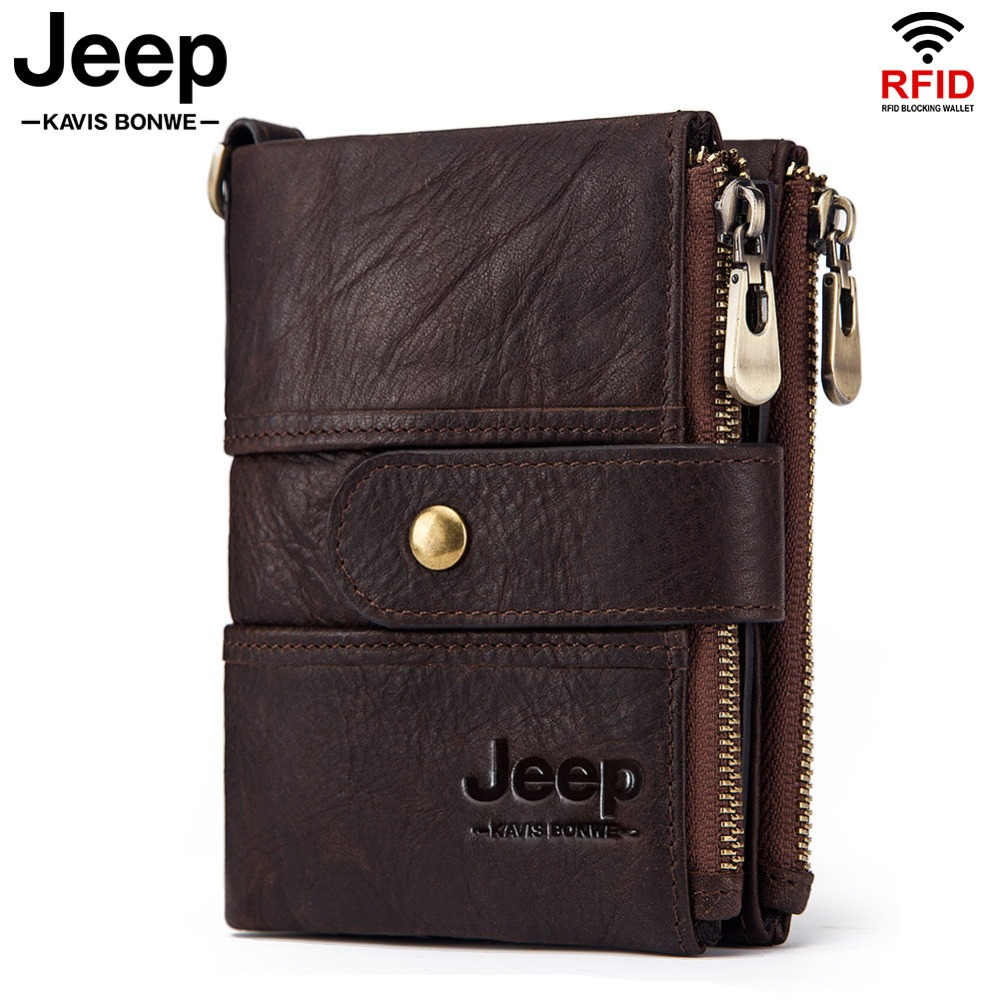Rfid Wallet Short Money-Bag Coin-Purse Crazy-Horse Male Mini Boys High-Quality 100%Genuine-Leather