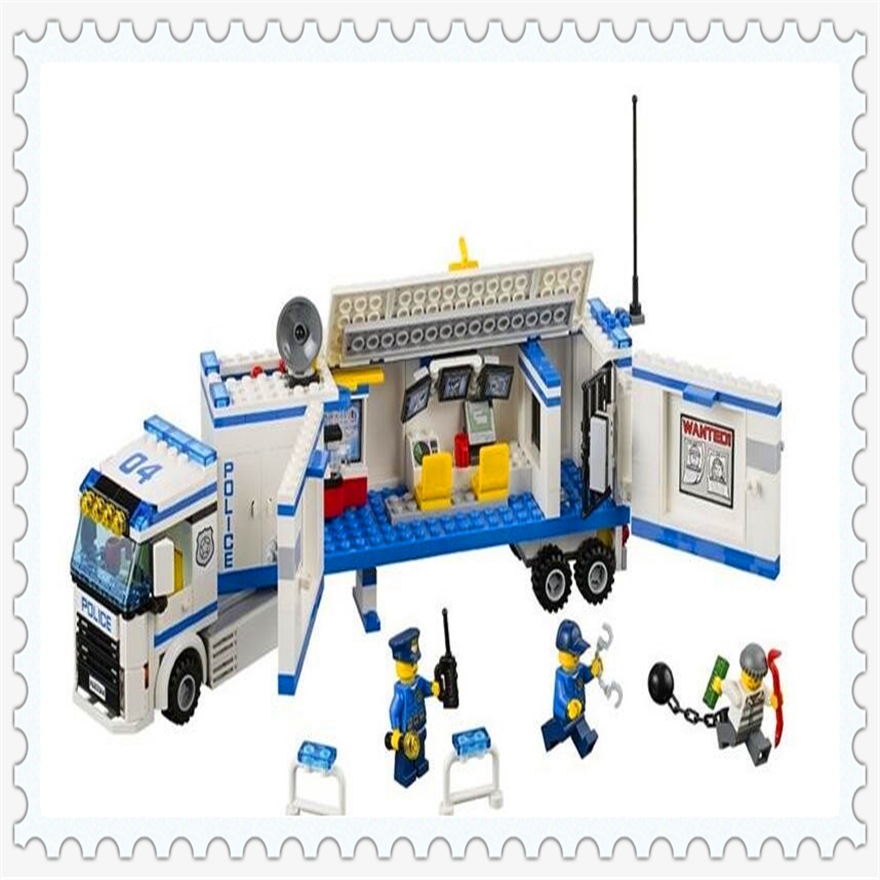 394Pcs Urban Fluidity Police Station Model Building Block Toys Enlighten 10420 Gift For Children Compatible Legoe 60044 lepin 22001 pirate ship imperial warships model building block briks toys gift 1717pcs compatible legoed 10210
