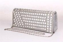 Aluminum beads evening bag DJ Bag Princess Bride, dinner bag with foreign trade Diamond single shoulder bag